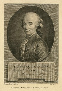 Jean-François Pilâtre de Rozier - 1er Navigateur