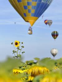 Faites un vol en montgolfière avec Pilâtre de Rozier Evasion