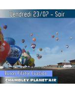 Billet de vol en montgolfière - Mondial Chambley 2021- Vol du 23/07/2019 soir