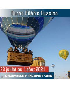 Billet de vol en montgolfière - Mondial Chambley 2021 - Buron Pilatre Evasion